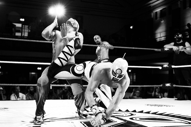 THE GREATEST SPECTACLE OF LUCHA LIBRE.11th July 2015, York Hall, London