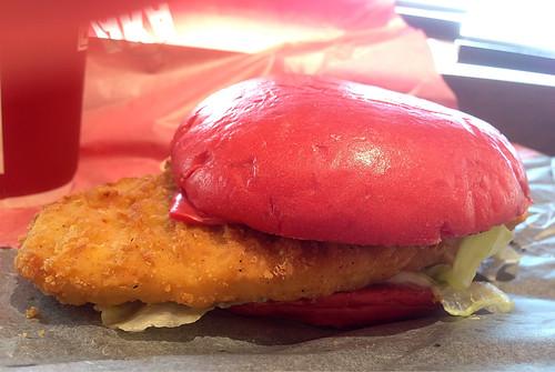 Hamburguesa roja japonesa