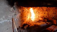 ...la cheminée tire magnifiquement