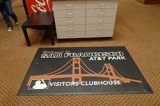 AT&T Park Tour - Visitors Clubhouse