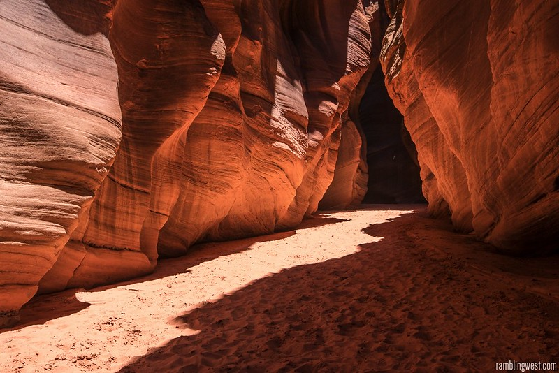 Sometimes it Widens..., Buckskin Gulch image