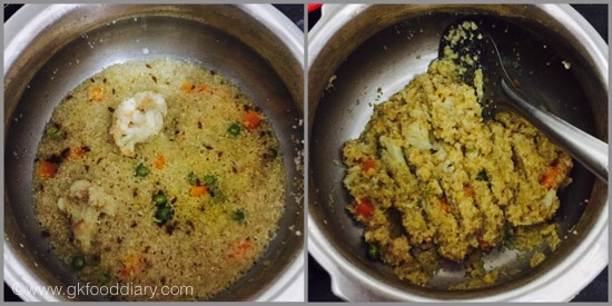 Daliya Khichadi for Babies - step 4