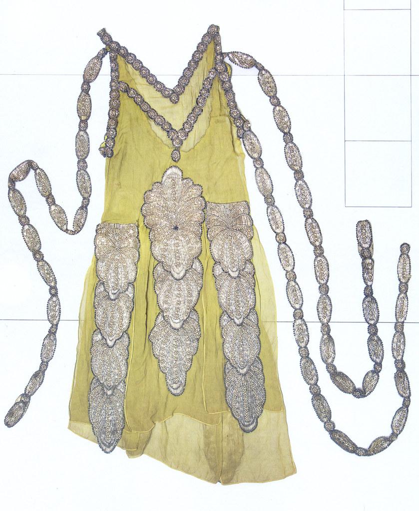 Robe Mille et Une Nuits, Lanvin, Musée Galliéra