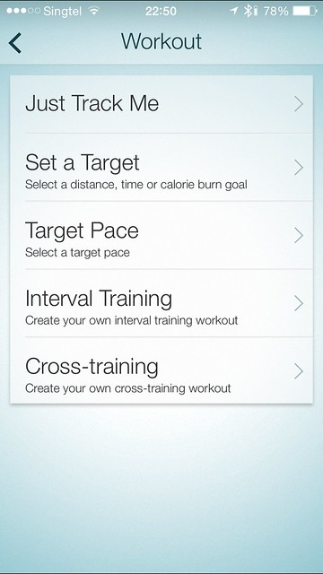 Jabra Sport iOS App - Running Workouts