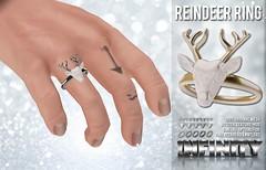 !NFINITY Reindeer Ring