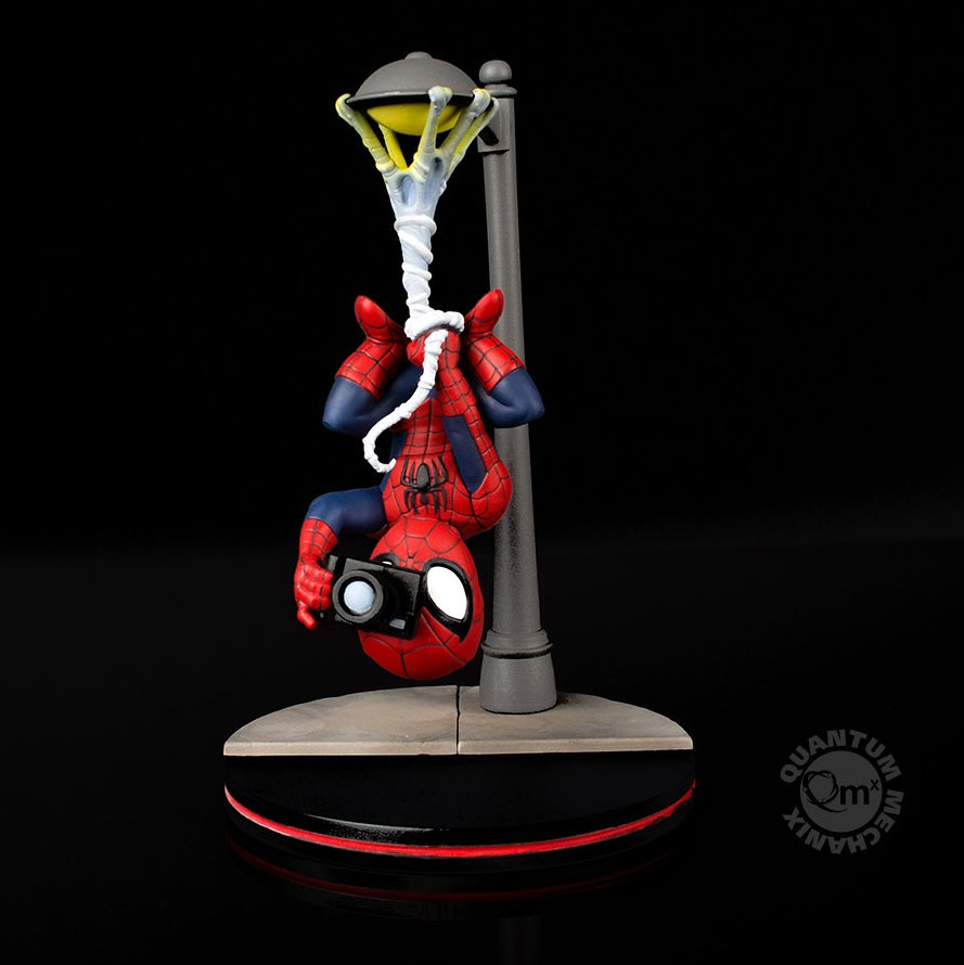 彼得.帕克先生,你到底在偷拍啥?!Quantum Mechanix Q-Fig【蜘蛛人】Spider-Man