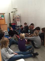 Bezoek: Voorlezende leerkrachten in 4AB