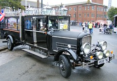 vintage hearse -  you may as well go in style