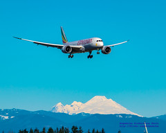 787 On Final to Paine Field