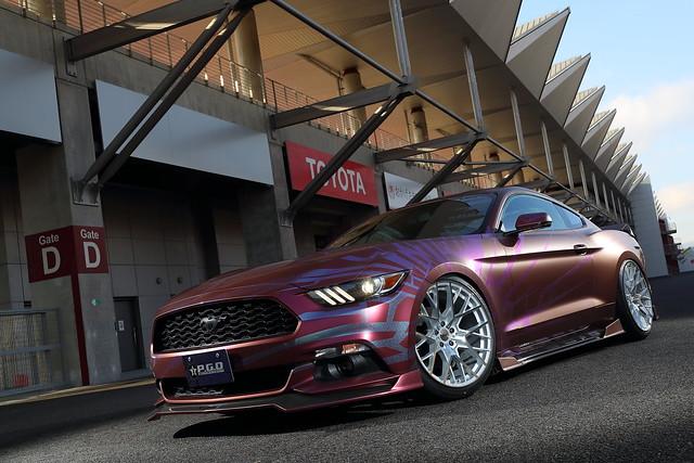 Ford Mustang on TSW Sebring