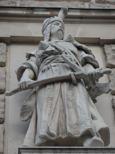 Wien, 1. Bezirk, Art of Facades of Vienna (Hofburg), Neue Burg – (1881-1913 built by Gottfried Semper, Karl Hasenauer, Emil Förster, Friedrich Ohmann and Ludwig Baumann) – Rudolf Weyr – Magyar