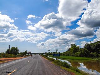 Cambodia sky
