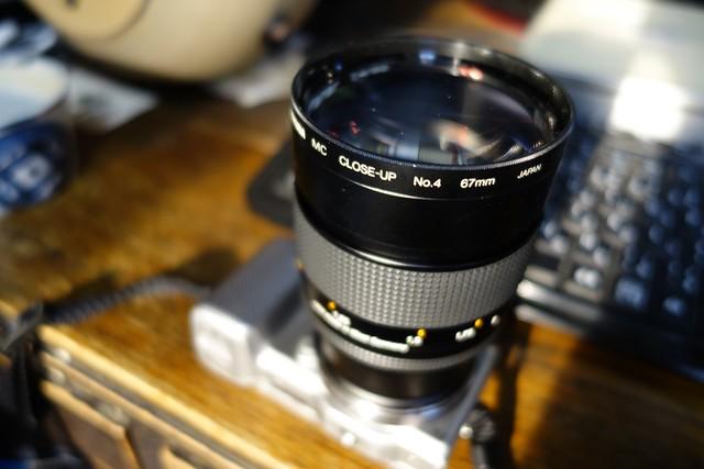 Planar 85mm F1.4 AEG + Close-Up Filter No,4