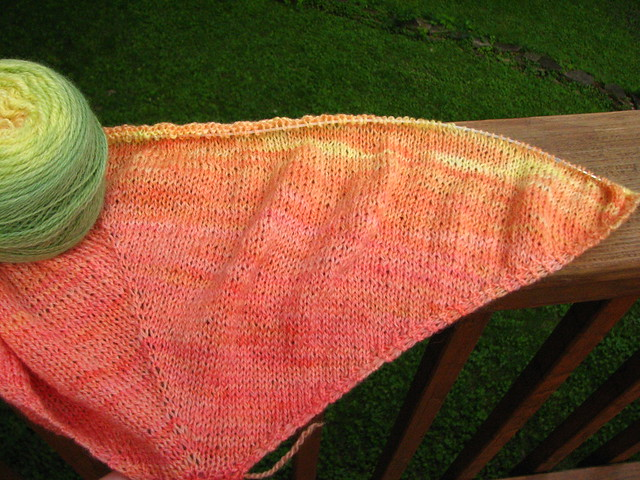 Hibiscus Shawl in Bengal Soft