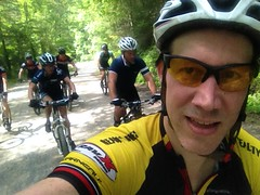 Riding Toward Windy Gap