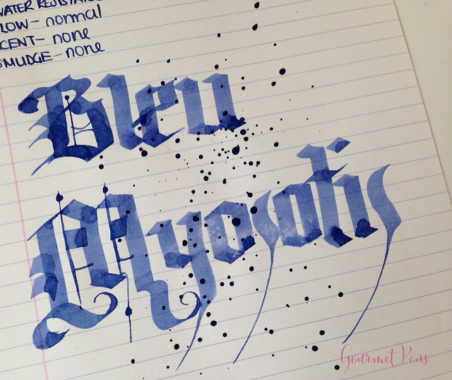 Ink Shot Review J. Herbin Blue Myosotis (Forget-Me-Not Blue) @BureauDirect (7)