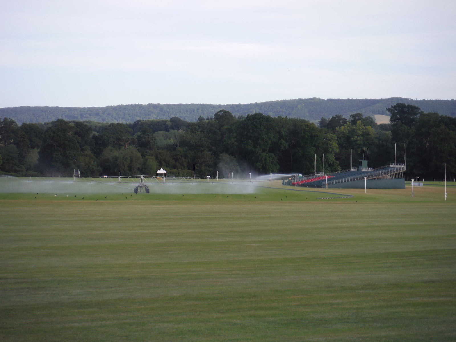 Polo Ground in Cowdray Park SWC Walk 217 Midhurst Way: Arundel to Midhurst
