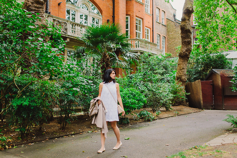 {frolicking through mayfair} via chevrons & éclairs