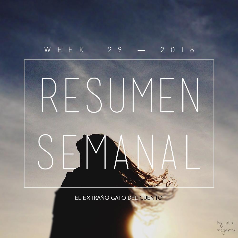 resumen semanal - week 29