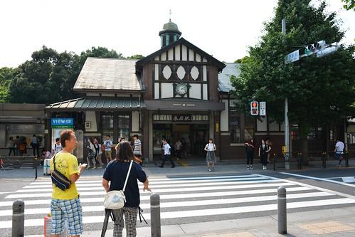 原宿駅:表参道口