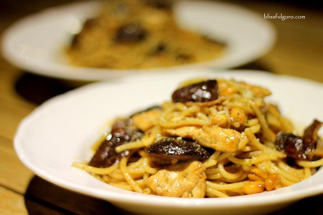 NYORK Cafe Cabanatuan Char Siu Chicken Pasta