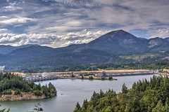 Bonneville Dam from Wauna viewpoint