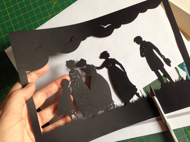 Sense and Sensibility - final silhouette