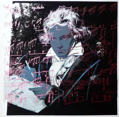 Andy Warhol Beethoven (1987).