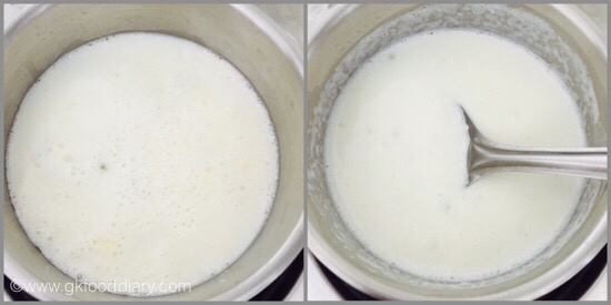 Sabudhana Kheer for Babies - step 2