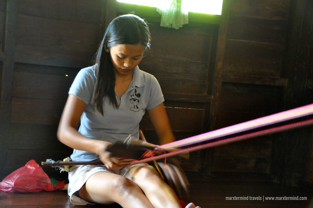 Young Weaver in Mabilong Kalinga