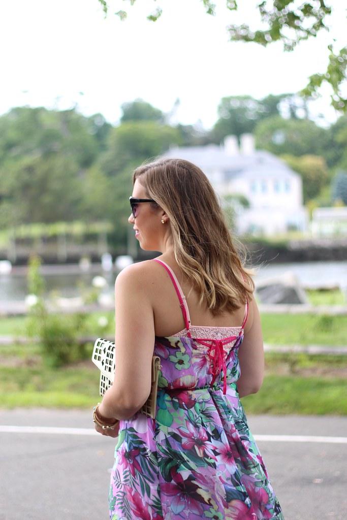 Summer Floral Maxi Dress