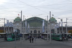 Basel SBB railway station, 29.10.2011.