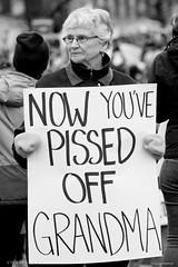 Grandma @ Women's March in Washington DC.