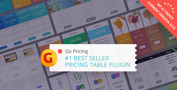 Go Pricing v3.3.7 - WordPress Responsive Pricing Tables
