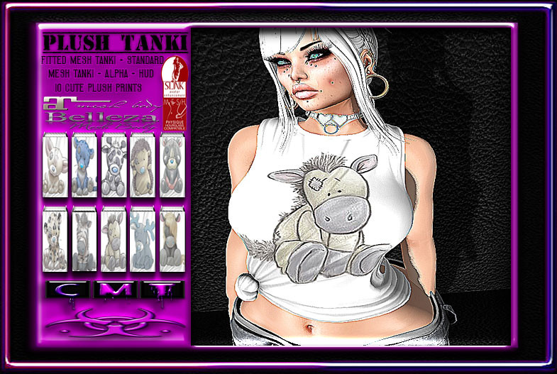 [TD]-Plush-Tanki - SecondLifeHub.com