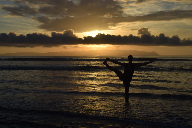 Morning Sunrise with Yogi Aaron
