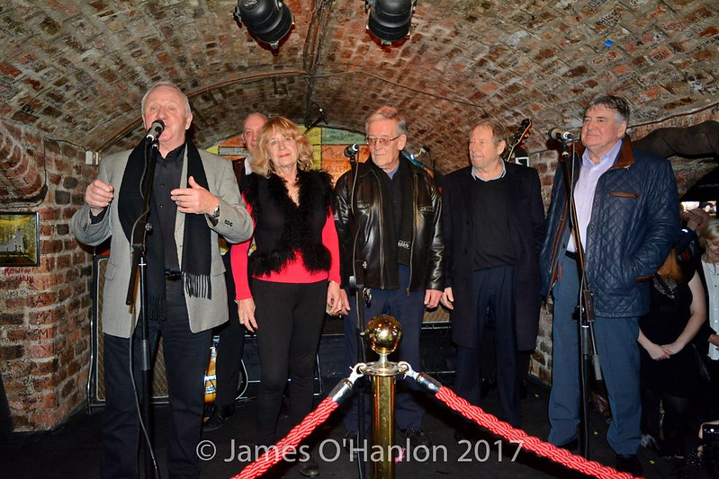 Jamo, Iris Caldwell, Lou Walters, Jimmy Tushingham and Vince Earle