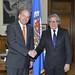 Secretary General Meets with Chilean Senator Patricio Walker