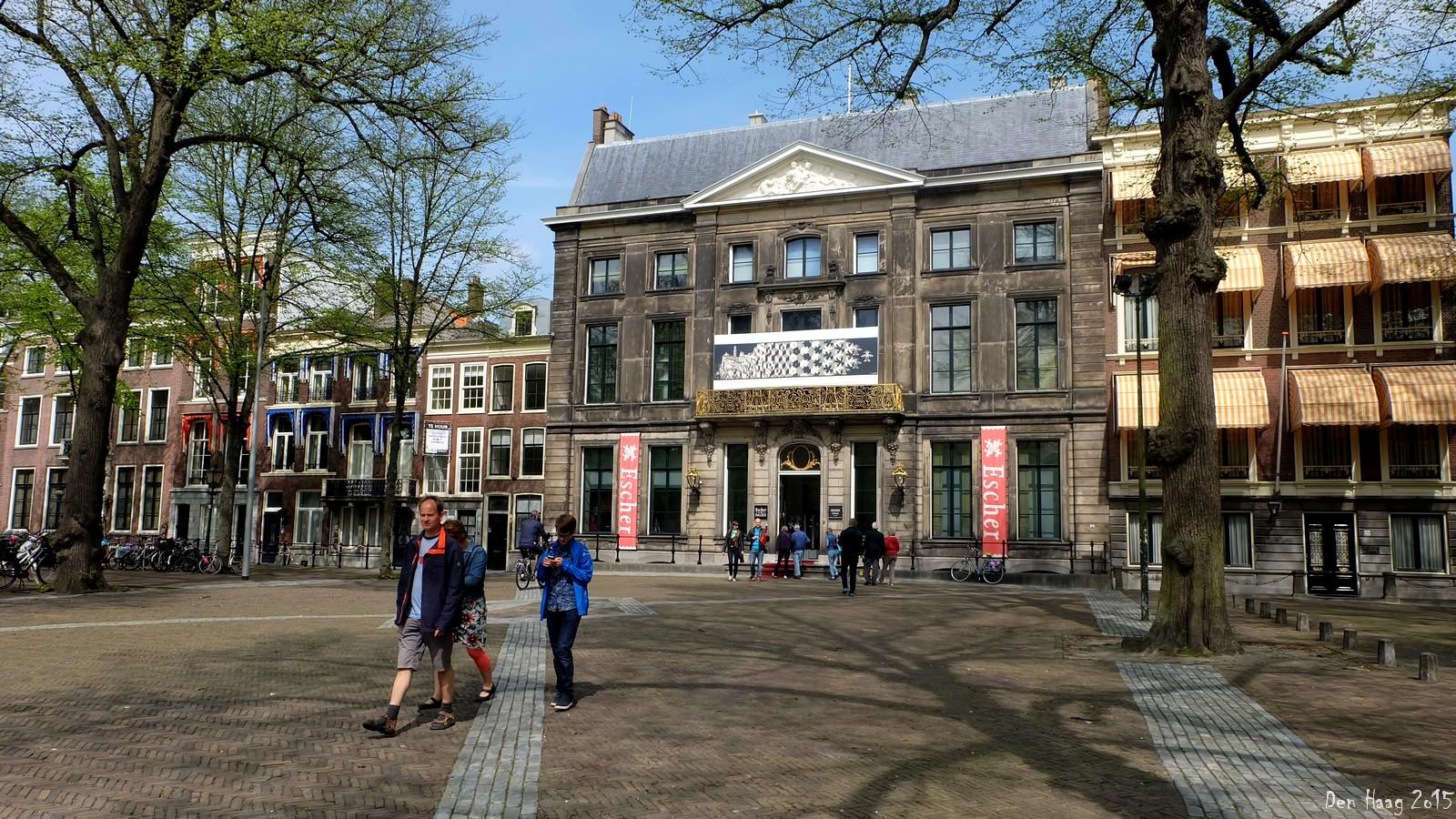 Escher in Het Paleis, Lange Voorhout, Den Haag, Nederland