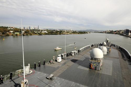 Talisman Sabre 2015 Concludes Aboard USS Blue Ridge