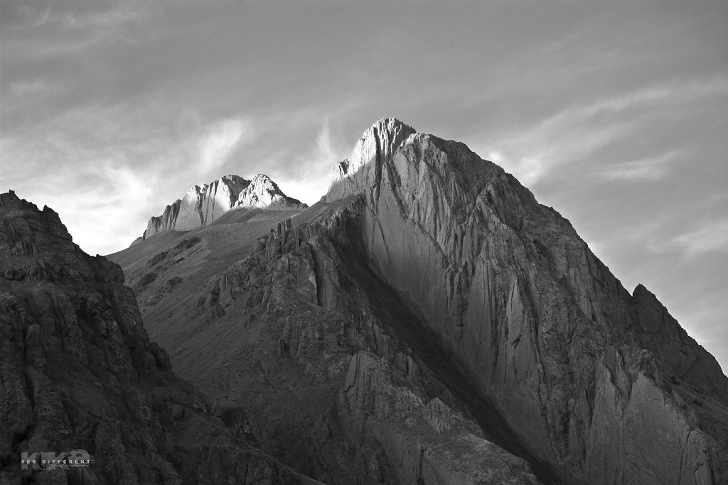 Montañas black and white