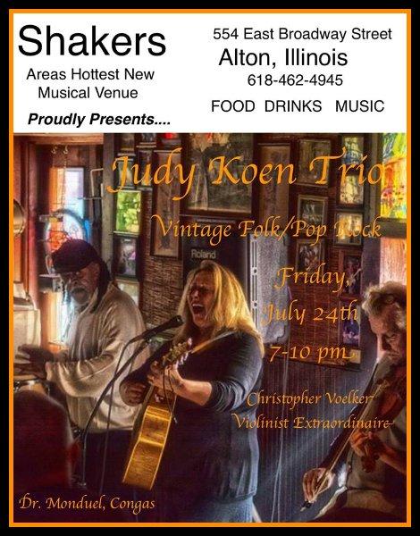 Judy Koen Trio 7-24-15