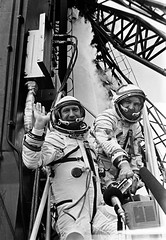 The ASTP Soviet crew