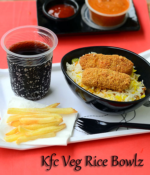 KFC Veg Rice Bowlz recipe