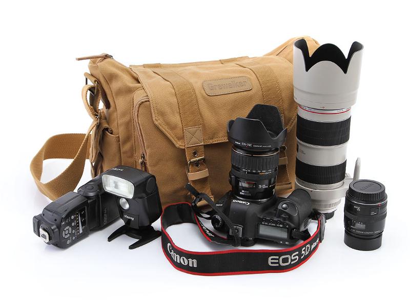 กระเป๋ากล้อง canvas camera bag grewalker f1