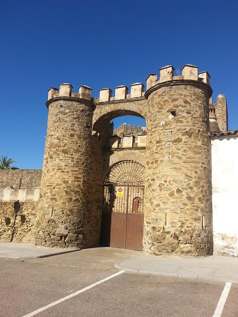 Visita al Castillo de Monroy