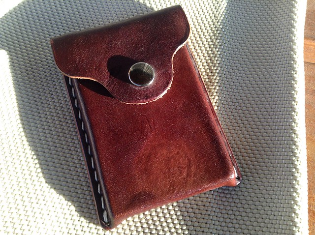 The Echo Six Designs card wallet made for Inktronics
