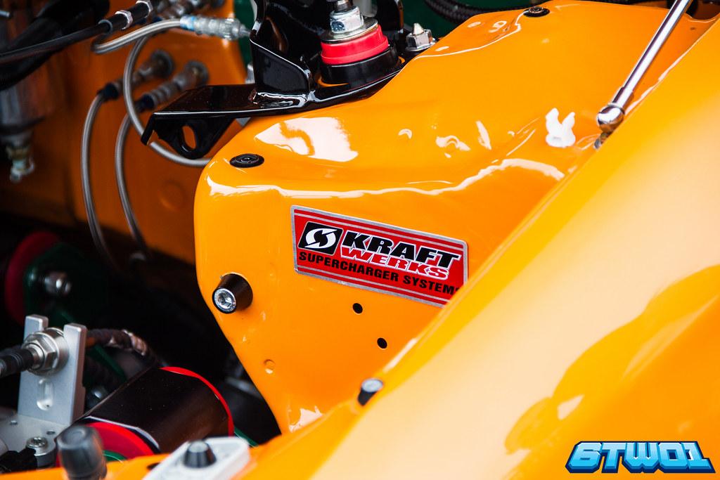 Supercharger Plaque