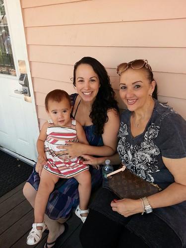 Nana Visits- August 2015