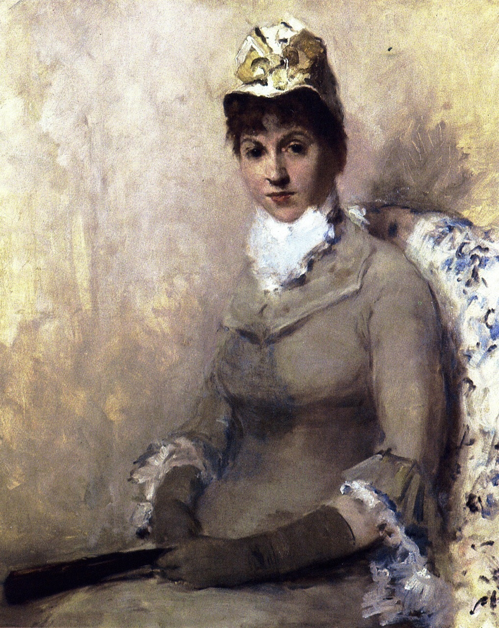 The Actress Linda Dietz Carlton by William Merritt Chase, c.1879